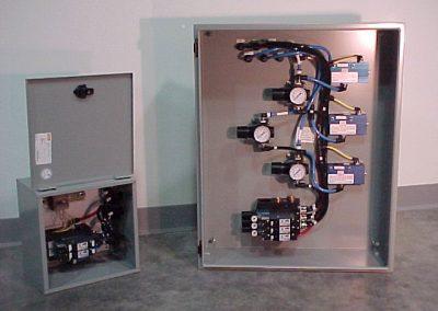 Custom Pneumatic Control Panel