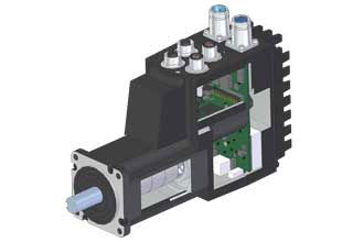 JVL MAC400 integrated servo motor