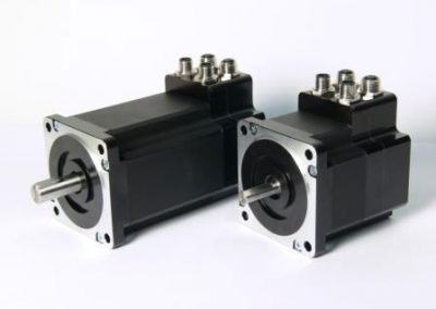 JVL Quick Step integrated stepper motors